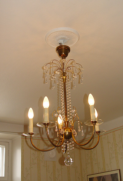 Renovatiing the antique lighting